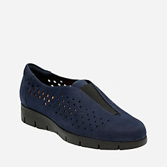 Daelyn Summit Navy Nubuck womens-casual-shoes