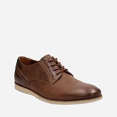 Franson Plain Tan Leather mens-dress-casual-shoes