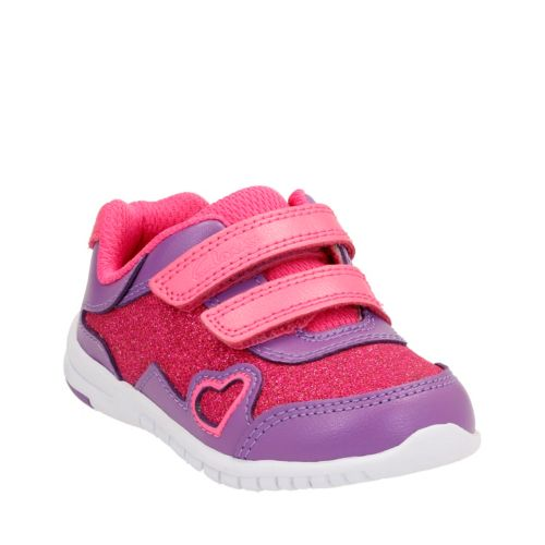 Azon Maze First  Pink Combi Lea girls-sneakers