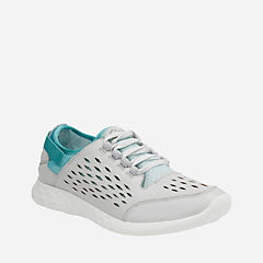 Seremene Lace Baltic/Gradient Leather womens-active