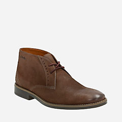 Garren Free Brown Leather mens-low-boots