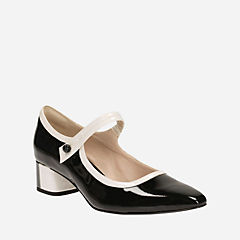 Swixties Faye Black Pat Combi womens-view-all