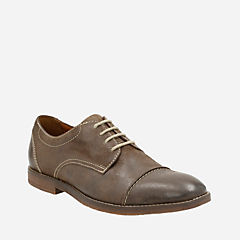 Verner Cap Dark Brown Leather mens-dress-casual-shoes