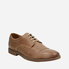 Verner Cap Brown Leather mens-dress-casual-shoes