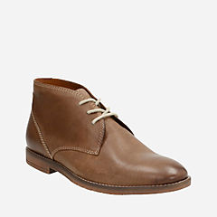 Verner Style Brown Leather mens-low-boots