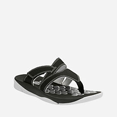 Tresca Track Black Synthetic womens-flip-flops-sandals
