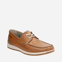 Fallston Style Tan Leather mens-casual-shoes