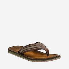 Riverway Webb Brown Cotton Webbing mens-sandals
