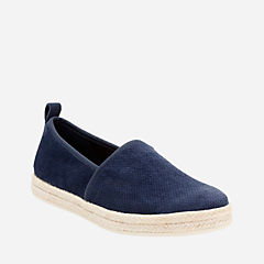 Azella Revere Navy Suede womens-casual-shoes