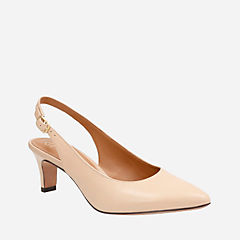 Crewso Riley Nude Leather womens-heels