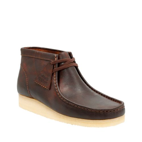 Wallabee Boot Rust Leather originals-mens-boots