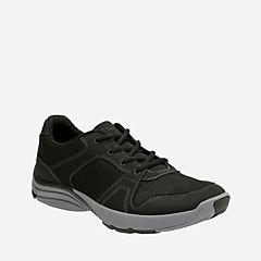 Wave Launch Black Nubuck mens-active