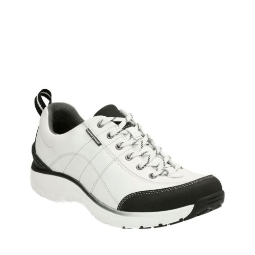 Wave.Trek White Leather womens-active