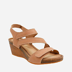 Hevely Ordo Beige Leather womens-sandals