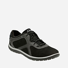 Aria Lace Black Leather womens-wide-width