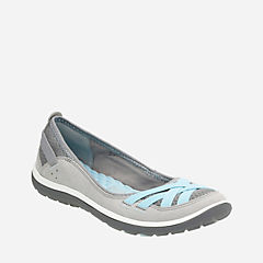 Aria Pump Grey Synthetic womens-active