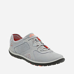 Aria Lace Grey Leather womens-wide-width