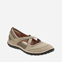 Aria Maryjane Brown Leather womens-wide-width