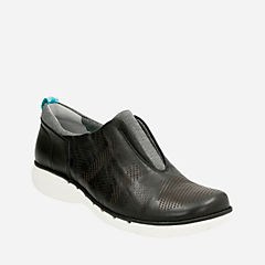 Un Spirit Black Leather womens-casual-shoes