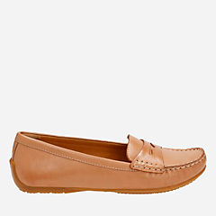Doraville Nest Tan Leather womens-wide-fit-flats