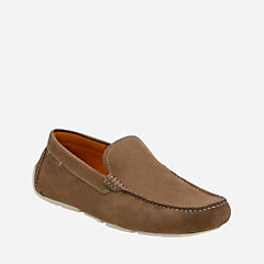 Davont Drive Olive Nubuck mens-casual-shoes