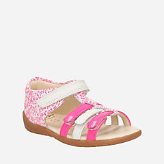 Kiani Glo First Pink Combi Lea kids-view-all-shoes