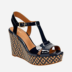 Amelia Roma Navy Patent womens-sandals