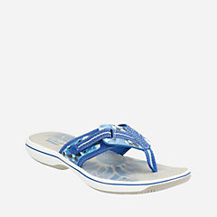 Brinkley Jazz Blue Camo Synthetic womens-sandals
