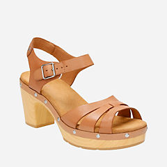 Ledella Trail Beige Leather womens-sandals