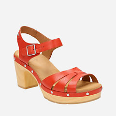 Ledella Trail Grenadine Leather womens-sandals-heels