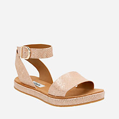 Romantic Moon Champagne Metallic womens-sandals