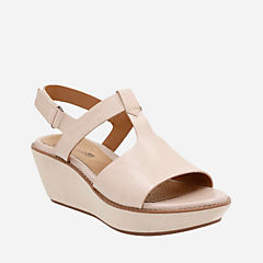 Hazelle Amore Nude Leather womens-sandals