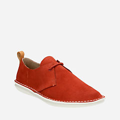 Tamho Edge Rust Suede mens-casual-shoes
