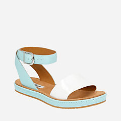 Romantic Moon DuckEgg Blue Combi womens-sandals