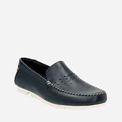 Trimocc Sun Navy Leather mens-casual-shoes