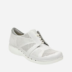 Un Voltra White Leather womens-casual-shoes