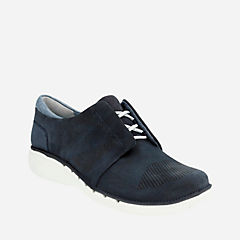 Un Voltra Navy Nubuck womens-casual-shoes