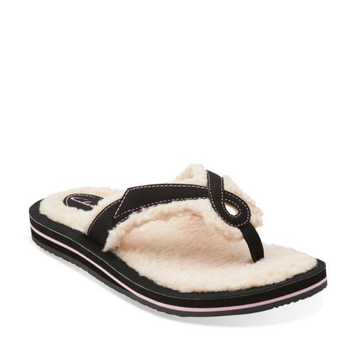 Bridela Hope Slipper Black Synthetic womens-view-all