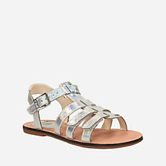 Loni Joy Toddler Metallic girls-sandals