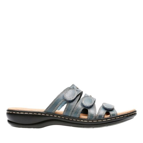 Leisa Cacti Q Denim Blue Leather womens-view-all