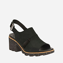 Jungle Fern Black Nubuck womens-casual-shoes