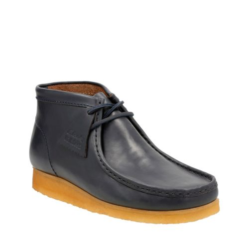 Wallabee Boot Petrol Blue Lea originals-mens