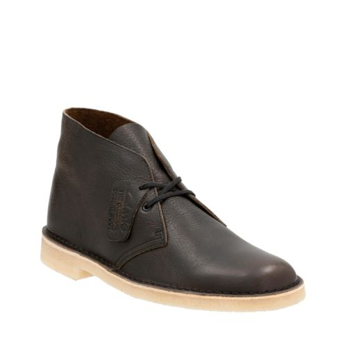 Mens Desert Boot Khaki Leather originals-mens-desert-boots
