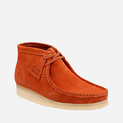 Wallabee Boot Rust Vintage Suede originals-mens