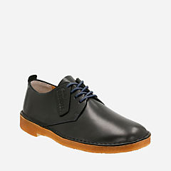 Desert London Dark Navy Leather originals-mens-shoes