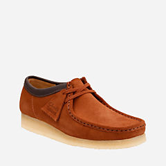 Wallabee Dark Tan Suede originals-mens-shoes