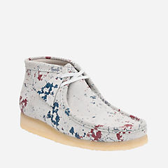 Wallabee Boot Multicolour Sde originals-mens