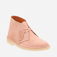 Desert Boot. Dusty Pink Suede originals-womens-desert-boots