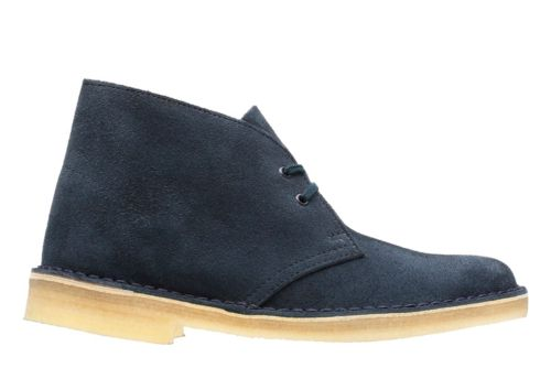 Desert Boot. Dark Navy Suede originals-womens-desert-boots