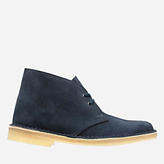 Womens Desert Boot Dark Navy Suede originals-womens-desert-boots
